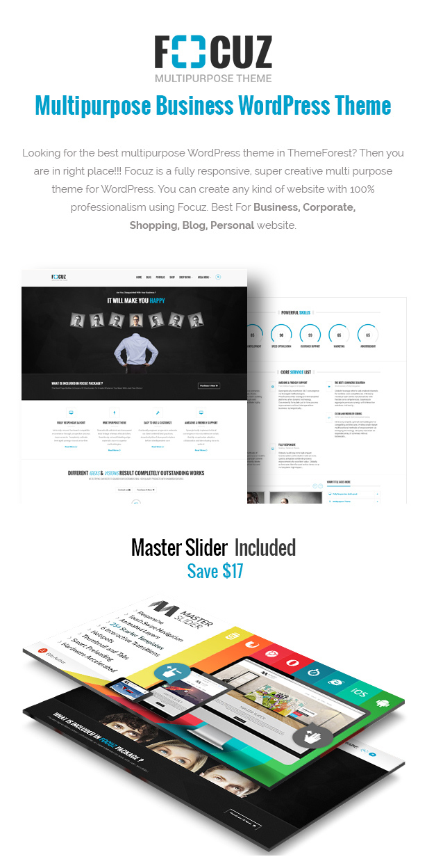 Focuz - WordPress Theme