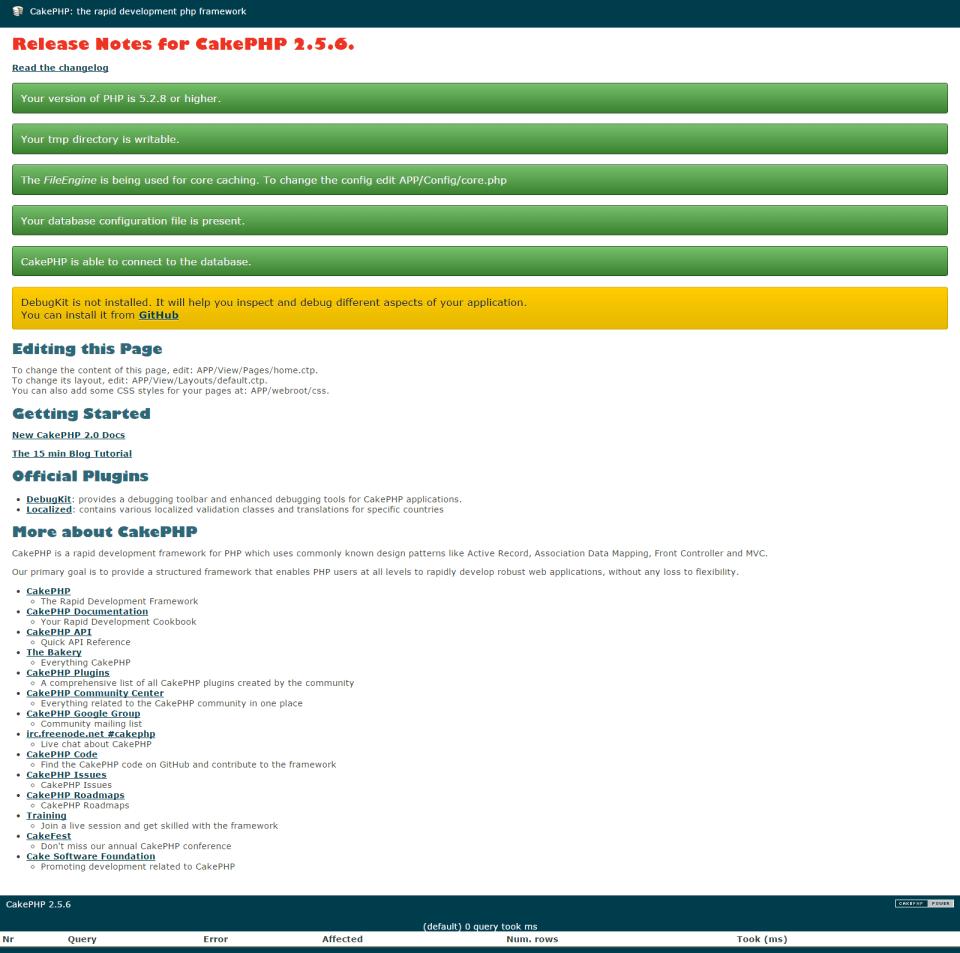 Cake Create Directory