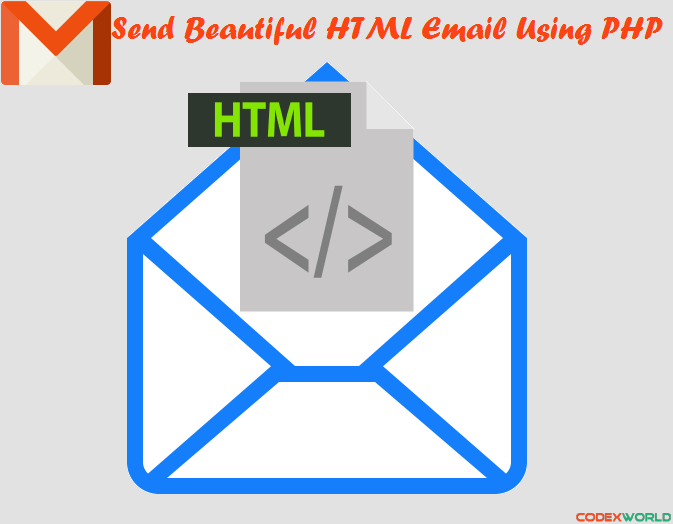 Send Beautiful HTML Email using PHP - CodexWorld