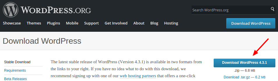 download-wordpress-installation-package-by-codexworld