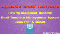 create-dynamic-email-template-system-php-mysql-codexworld