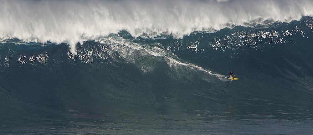 Le poids des mots. Avec Jaws, le surf tient son Superbowl (archives rédaction)