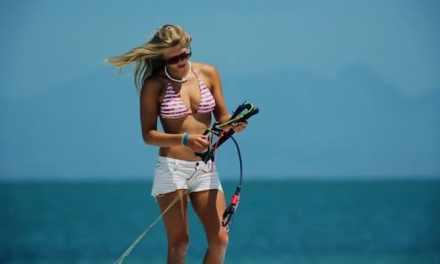 Les femmes, la mer et le kitesurf #2
