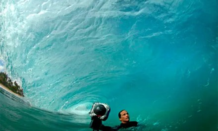 1,3 millions de vues pour le mini-documentaire sur Clark Little, le photographe du shore break