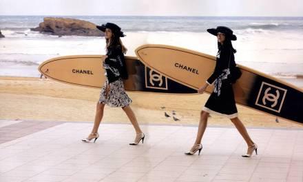 Quand Channel exploite le supplément d'âme du surf
