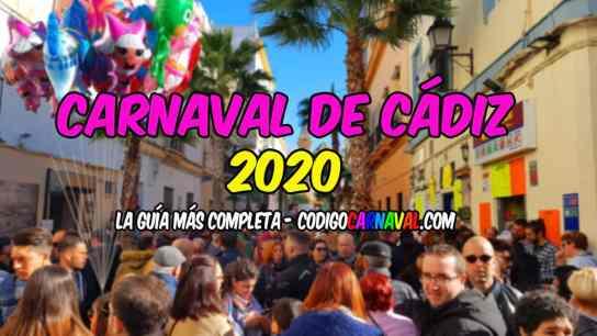 Carnavalul din Cadiz 2020 / Sursa foto: codigocarnaval.com