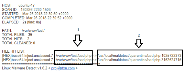 Detectar malware en vps linux