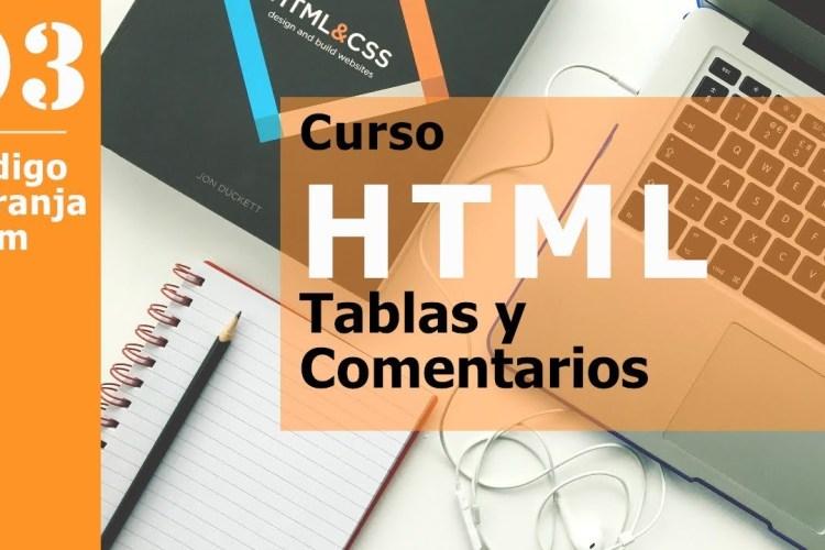 Curso html - tablas