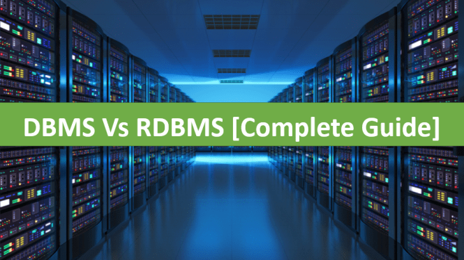 Difference Between DBMS and RDBMS in Tabular Points with Examples
