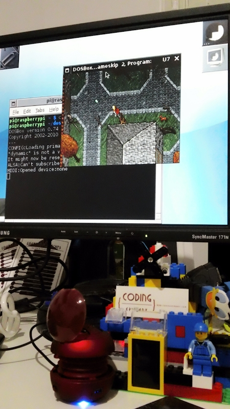 Some Configs to Increase DosBox Performance on Raspberry Pi
