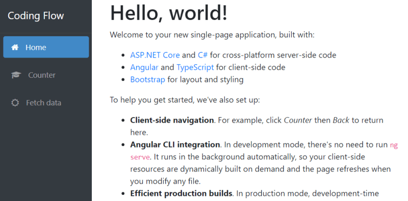 Building Single Page Applications on ASP NET Core 2 1 with Angular 6