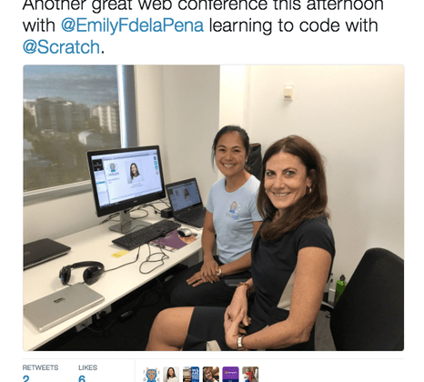 Coding kids teacher pd