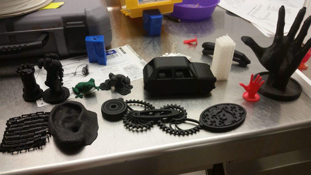 3D printing at HackaFun