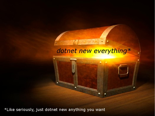 dotnet new everything