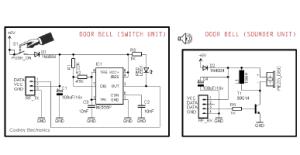 Simple Wireless Door Bell  Codrey Electronics