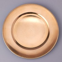 plastic charger plate, charger plate, decorative plate