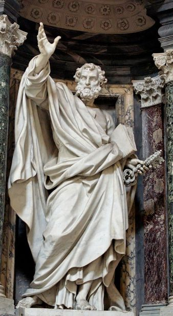 Sculpture of Saint Peter