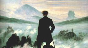 Wanderer over a sea of fog
