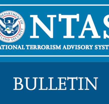 Homeland Security issues a Terrorism Advisory Bulletin