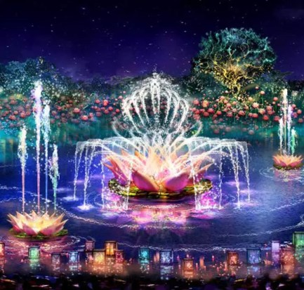 Rivers of Light Delayed