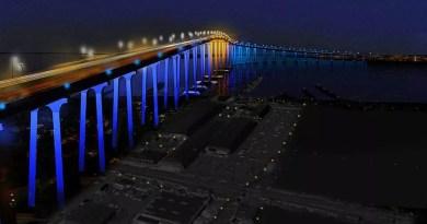 Port Of San Diego Approves Design To Illuminate Coronado Bridge