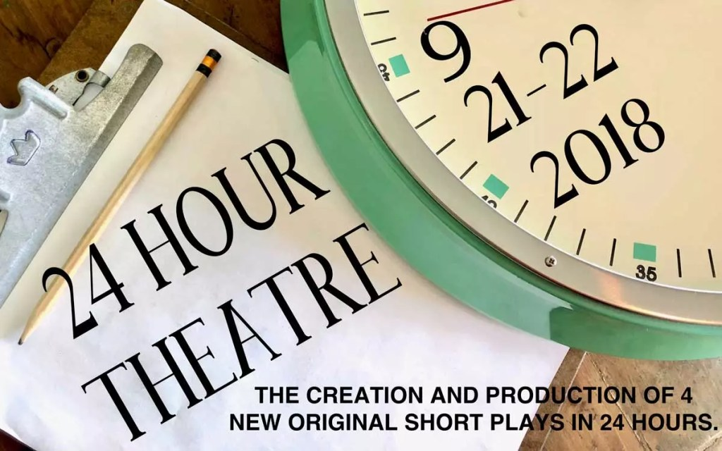 Be Theatre presents 24 hour theatre