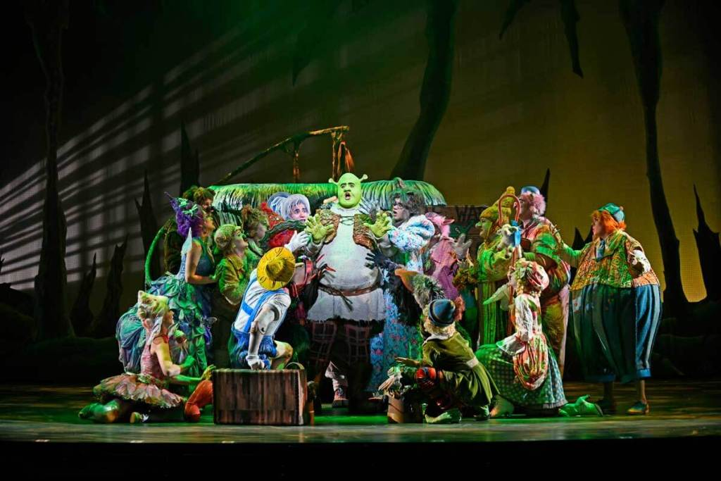 3D Theatricals Shrek The Musical At Cerritos Performing Arts Center Cody Rodriguez Review