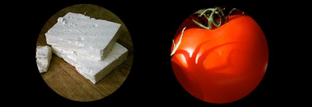 feta z pomidorem zdrowe przekąski