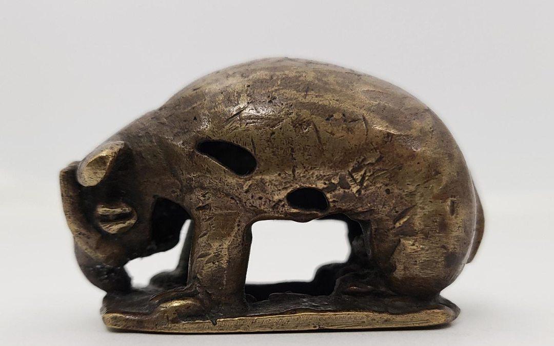 Elephant Gold Weight
