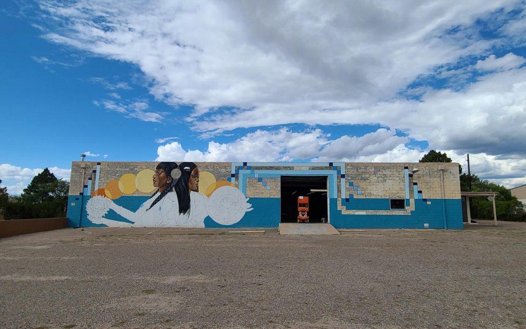 In the news…. Nanibah (Nani) Chacon's Mural