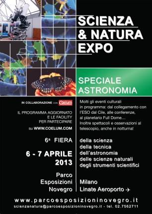 Scienza & Natura Expo a Milano il 6-7 aprile 2013