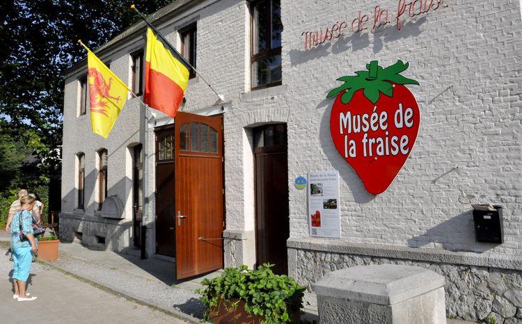 Musée de la Fraise Namur Dinant Restaurant Coeur de Boeuf Profondeville Tourisme Que Faire Manger Restaurant