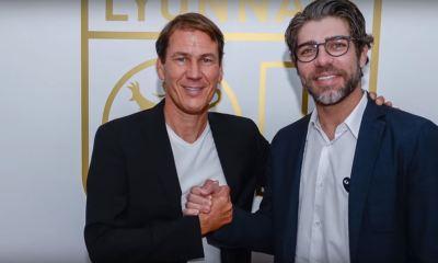 Rudi Garcia et Juninho
