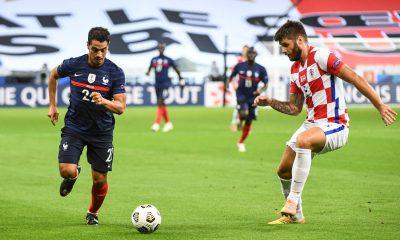 EdF - L'Equipe de France bat la Croatie de Duje Caleta-Car