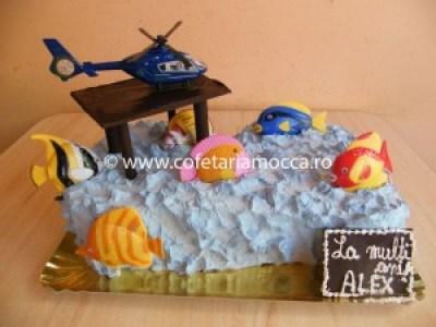 Tort pentru baieti elicopter (173)