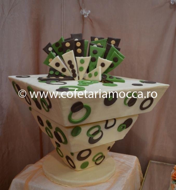 Tort De Nunta Rasturnat Cod 062 Nm Cofetăria Sweet Mocca Oradea