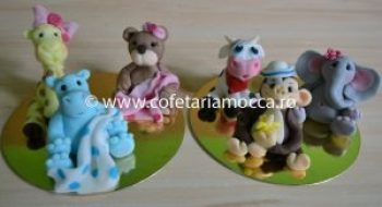 Figurine din martipan: animale
