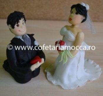 Figurina din martipan nunta oradea