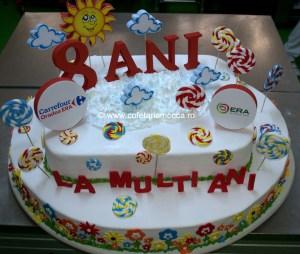 Tort Carrefour 8 ani