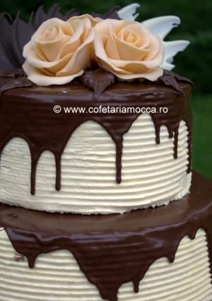 Tort nunta cu ciocolata Oradea