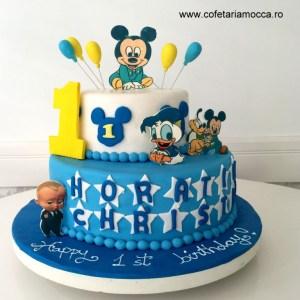 tort aniversar baby mickey (1)