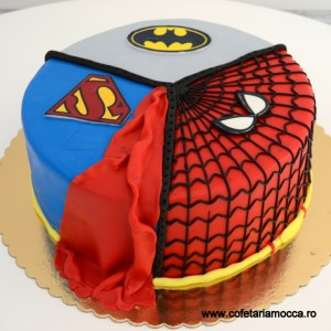 tort superman batman spiderman