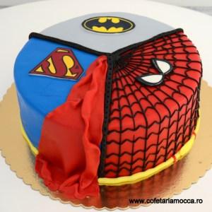 tort superman batman spiderman