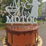 Tort Ms & Mrs Ciocolata