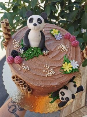 Tort Panda Choco