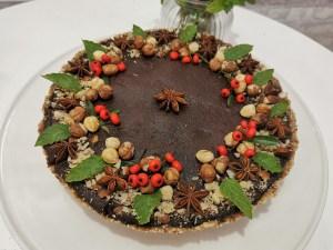 Tarta cu ciocolata Rawvegan