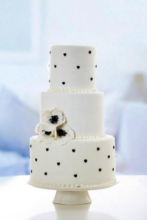 Macheta nunta Black & White COD74M