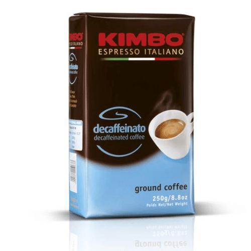 Espresso Kimbo - Decaffeinato 250g αλεσμένος σακουλάκι