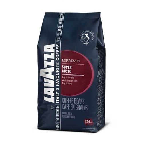 Espresso Lavazza - Super Gusto, 1000g σε κόκκους