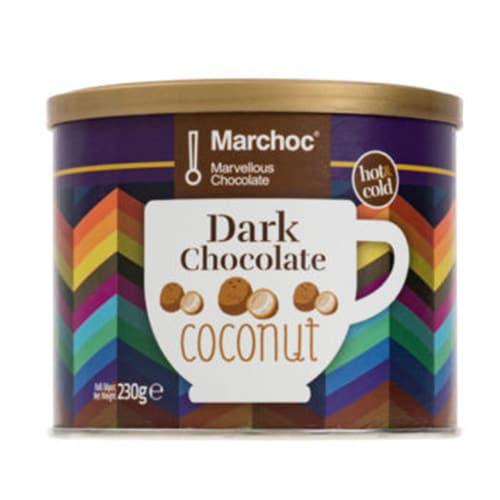 Marchoc - Σοκολάτα Μαύρη με Καρύδα